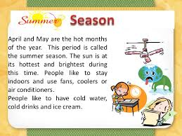summer season essay short paragraph on summer season important