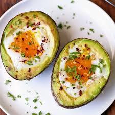 creamy avocado egg bake healthy