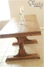 rustic dining table diy farmhouse table build this rustic farmhouse table fresh rustic dining table plans