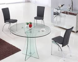 small glass dining table. Small Glass Dining Table O