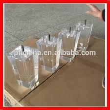 acrylic furniture legs. Acrylic Furniture Legs Dining Table Base Tapered Bench/Sofa Leg