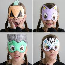 Whether you're looking for a quick last minute costume or a halloween outfit that doesn't cost an arm and a leg, check out our free printable halloween masks! Halloween Masks To Print And Color It S Always Autumn