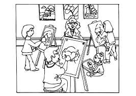Kleurplaat Krokodil En Het Meesterwerk Coloriage Cours De Dessin Img