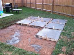nice diy concrete patio ideas diy slab home interior design how to build a concrete patio o40