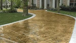 Quikrete Concrete Stain Colors Chart Quikrete Concrete Stains Example Burnt Orange Application
