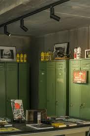 track lighting industrial look. office with industrial look vintage lockers lighting by tal project 411 track scoop on desgin