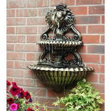 cast aluminium elephant water fountain