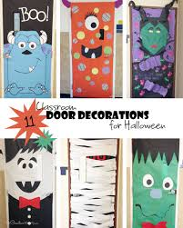 classroom door decorations for halloween. Best Of Classroom Door Decorations For Halloween With Cool Onecreativemommy