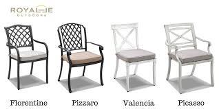 Aluminium Patio SetsStoreFIVESTARSPatio Table In Aluminium With Aluminium Outdoor Furniture