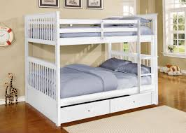 Vicky Full Convertible Bunk Bed with Trundle and Drawers