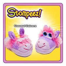 Stompeez Slippers Unusual Unicorn Medium