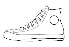 40+ shoe coloring pages for kids for printing and coloring. Pin By Abigail Sexton On Montessori Pete The Cat Shoes Shoe Template Pete The Cat