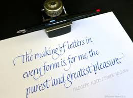 calligraphy paper and ink arts blog