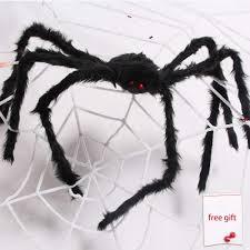 Big hairy spider yard decor