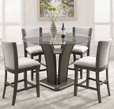 Round Counter Height Table Intended For Exquisite Decoration Dining Classy Dining Room Table Height Decor