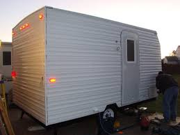 Diy travel trailer Siding Diycampertrailerbuild13 Travel Tips Usa Today Usatodaycom Diy Camper Trailer Built From An Old Popup On Budget Of 4500