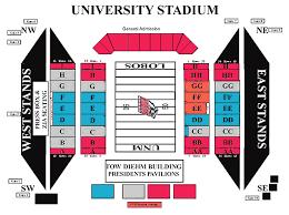 University Of Wyoming Football Stadium Seating Chart New Mexico Lobos 2015 Football Schedule