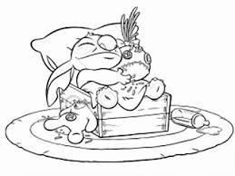 Yellow Coloring Pages Lilo And Stitch Coloring Pages