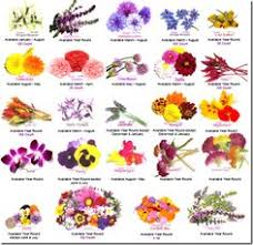 Month Flowers Chart Best Wedding Flowers By Month The B List Blog