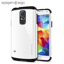 samsung galaxy s5 white. spigen sgp slim armor case for samsung galaxy s5 - white