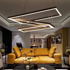 modern office lighting. Creative Modern Chandelier Simple Personality Led Chandeliers Lustre Home Bar Living Room Lights Office Lighting 220V