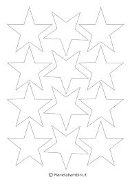 Disegni Di Stelle Da Stampare Colorare E Ritagliare Pianetabambiniit