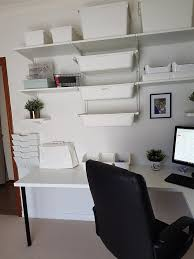 ikea office makeover. Home Office Makeover Using IKEA Algot System Ikea