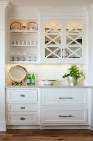 glass cabinets kitchen diy kitchens inspirational door ideas
