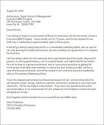 Letter Of Recommendation Format For College Admission - Resume ...