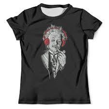 Футболка с полной запечаткой (мужская) <b>Альберт</b> Эйнштейн ...