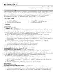 Construction Estimator Resume Sample Construction Estimator Resume Sample Professional For Reginald Lee 5