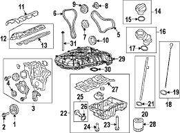 parts com® chevrolet crank pulley bolt partnumber 11569873 2011 chevrolet traverse ls v6 3 6 liter gas engine parts