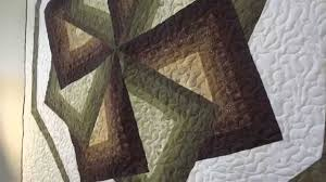 Amish Made Quilted Wall Hanging - Star Spin Design - YouTube &  Adamdwight.com