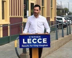 Fighting for you & for the #nextgen. Rookie Mpp Stephen Lecce Takes On A Tough Education File Thespec Com