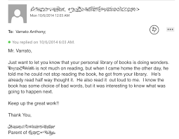 literacy tony varrato s rambling blog personal library letter