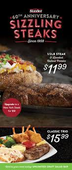 sizzler celebrates 60 years as america s family steakhouse