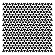 awesome design black white. awesome original triangle pattern black white design