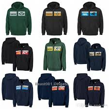 Majestic Hoodie Size Chart Men Women Youth Panthers Chargers Jets Saints Rams Packers Broncos Bears Chiefs Jaguars Majestic Retro Full Zip Hoodie