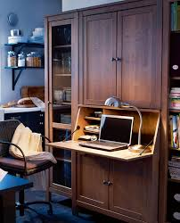 office in kitchen. small home office design in kitchen