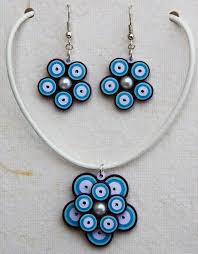 Quilling Chain Designs How To Make Quilling Pendant Necklace For Kids Quilling