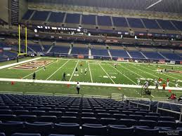 Alamodome Ncaa Basketball Seating Chart Alamodome Section 115 Utsa Football Rateyourseats Com