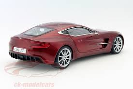 aston martin one 77 red. aston martin one77 year 2009 diavolo red 118 autoart one 77 v