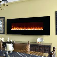 full image for elegant dining room design electric fireplace insert wood table runner candle stacked stone
