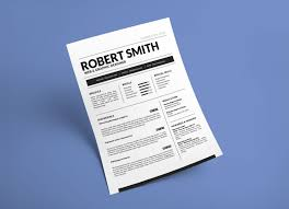 Free Standard Resume Template In Docx Doc Format Good Resume