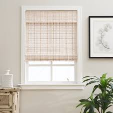 bamboo window blinds.  Bamboo Shop Arlo Blinds Corded Whitewash Bamboo Shade  Free Shipping On Orders  Over 45 Overstockcom 10532610 Intended Window