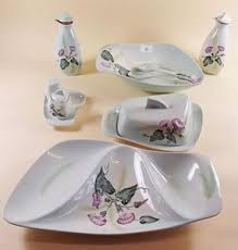 1950'S Dinnerware Patterns Awesome A 48 S SET OF POOLE CHINA COMPRISING DESSERT BOWL AND