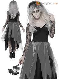 las zombie corpse bride costume womens halloween fancy