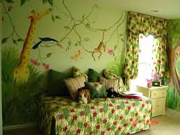 baby jungle wall decals wall decals for kids growth design image of jungle  wall decals for