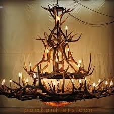 elk horn chandeliers 115 best antler chandeliers custom antler lighting images on