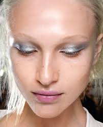 silvery blue or any kind of light color with a silver hue can transform your face silvery blue is perfect for a delicate radiance to porcelain features